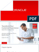 Oracle CX for Communications Final