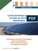 Livret technique pour la mise en service dynamique d'installation solaire collectif