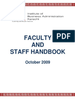 IBA Employee Handbook FINAL Oct2009