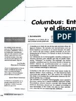 13. Columbus. Entre El Discurso Fictivo y El Discurso Factua