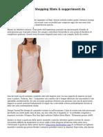 Biancheria erotica Shopping Hints & suggerimenti da Amanda Cotterill