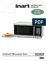 Cuisinart Microwave Oven Cmw 100