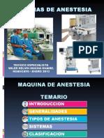 Maquinas de Anestesia Ppt
