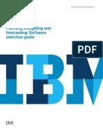 IBM Planning and Forecasting
