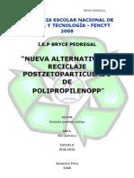 propileno postzetoparticularizado
