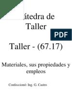 Unidad 3 - Materiales
