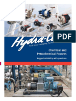 Hydra cell for chemical and petrochemical processes