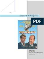 The Pentagon Wars- Project Management