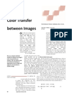 Color Transfer between Images