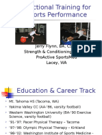Functional Training for Sports Performance