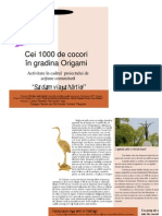 Sectiunea VI - Pliant_Proiect Origami