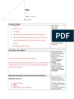 template for lesson plan assessment