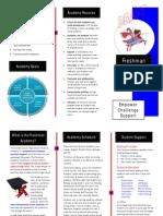Freshman Academy brochure DRAFT