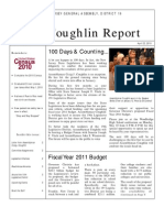The Coughlin Report-First 100 Days Newsletter