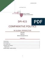 Comparative Politics Syllabus_Harvard