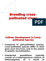 Cross Polinated Crops