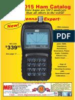 MFJ 2015 Ham Radio Catalog