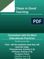 PROFESIONALISME GURU- 8 STEPS IN GOOD TEACHING