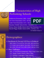 PROFESIONALISME GURU- 9 CHARACTERISTICS OF HIGH PERFORMING SCHOOLS