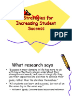 PROFESIONALISME GURU- 9 STRATEGIES FOR INCREASING STUDENT SUCCESS