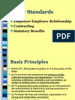 JURISTS 2013 Labor Standards