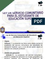 Ley de  Servicio Comunitario