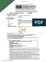 Certificado Provisional Bibliteca Nacional