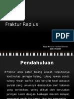 Fraktur Radius - Kezia Miracle Theofani Sormin