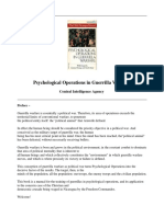 CIA Pyschological Operations