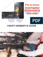 Fire & Arson Investigation Procedure & Practices(new)