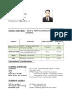 Prasan Resume