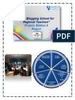 """EFL Blogging School for Moldovan Teachers"" Project , Edition II"