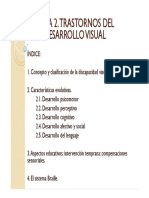 TEMA 2. Trastornos Del Desarrollo Visual (1)
