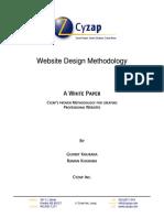 Cy Zap Website Design Methodology