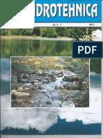 Studiul Infiltratiilor La Digul Amenajarii Ostrovul Mic - Hidrotehnica 2011