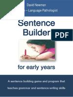 Program terapeutic pentru construirea propozitiilor