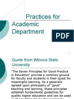PROFESIONALISME GURU- BEST PRACTICES IN ACADEMIC DEPARTMENT