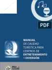 MANUAL DE CALIDAD TURISTICA PARA CENTROS DE ENTRETENIMIENTO Y DIVERSION