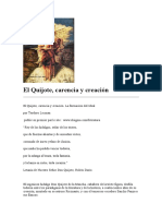 Lecman-El Quijote Carencia Ideal