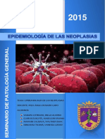 Epidemiologia de Las Neoplasias