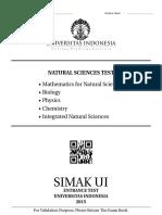 111 Natural Sciences