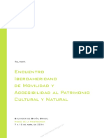 Encuentro Iberoamericano Accesibilidad Patrimonio_2014