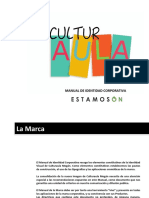 Estamos on Culturaula Mogán Manual Corporativo