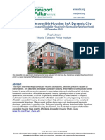 Affordable-Accessible Housing in a Dynamic City
