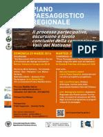 escursione+convegno processo partecipativo del Piano Paesaggistico Regionale FVG