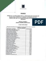 Baremación y listado definitivo Oficial Albañil y Oficial Albañil Agricultura