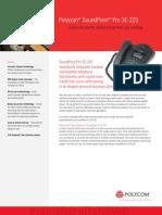 Sound Point Pro Se225 Datasheet