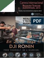 Realización y Tecnología Audiovisual 2015(1)
