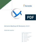 ABR11.5W Userguide Es-ES