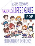 Afiche Contra La Discriminacion